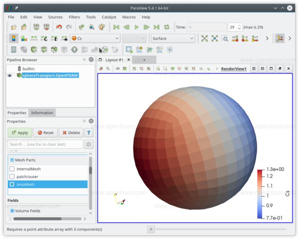 OpenFOAM® v1712: New and improved numerics
